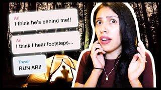 CRAZY EXBOYFRIEND!  - The Haunted Camper: Creepy Text Story - Yarn App