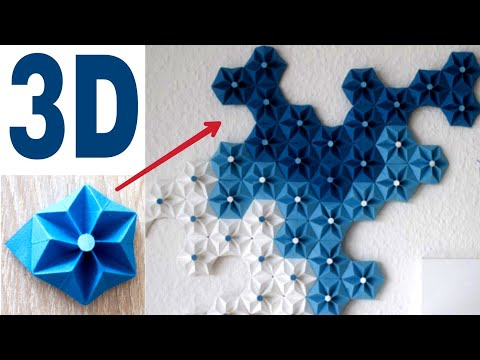 Diy-3d wall decoration idea || step by step tutorial || Pictographic vedio