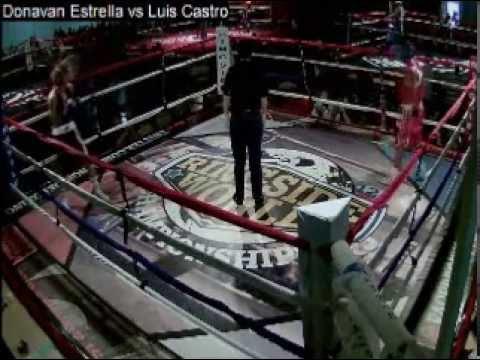 Donavan Estrella vs Luis Castro