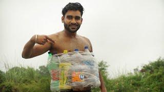 डूबने से बचने का तरीका | Cold drink bottle life jacket
