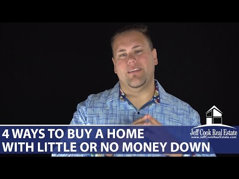 Charleston Real Estate Agent: 4 ways to buy a home with little or no money down