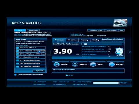 Intel® Visual BIOS Boot Order Tutorial