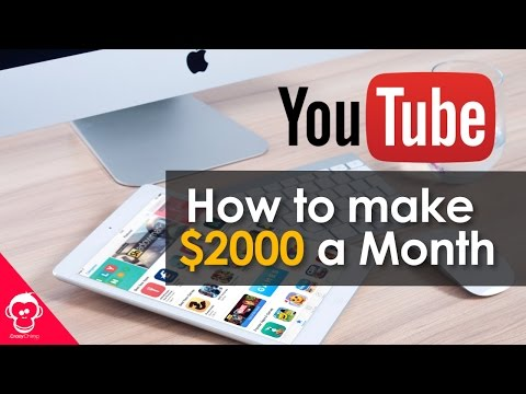 How To Make ($2000) Per Month on YouTube ? How Many Subscribers You Need ?