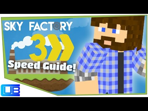 Getting Started | Cub's Speed Guide to Sky Factory 3 | Ep 1