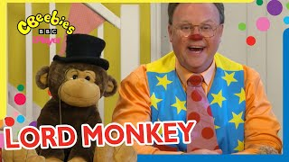 Mr Tumble's Lord Monkey Compilation! 🙉 | CBeebies