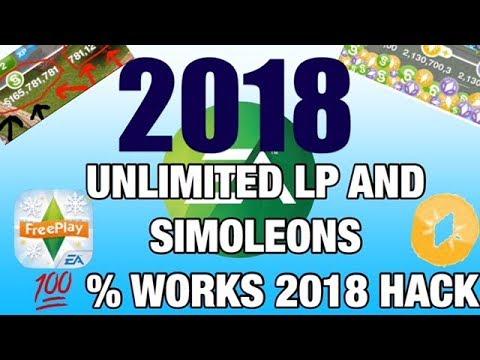 2018 SIMS FREEPLAY LP AND SIMOLEONS HACK!!! 100%WORKS!!!!