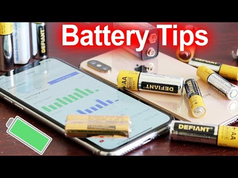 iPhone XS Battery Saving Tips with iOS 12 - Fix Dying iPhone Battery