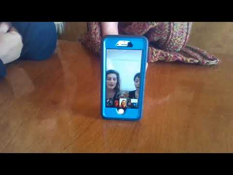 Video Chatting To Japan - Singing in Japanese Mothers Day