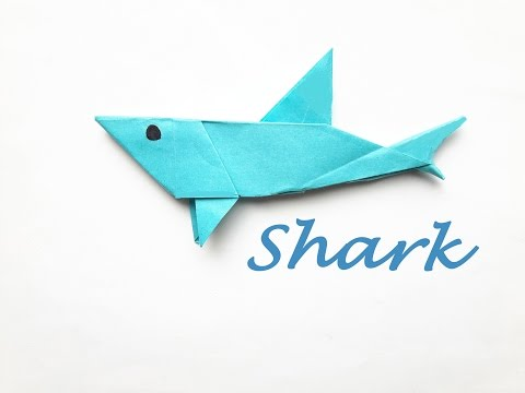 How to make a Paper shark?