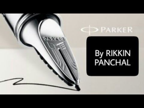 HOW TO FILL INK IN PARKER ROLLER BALL PEN