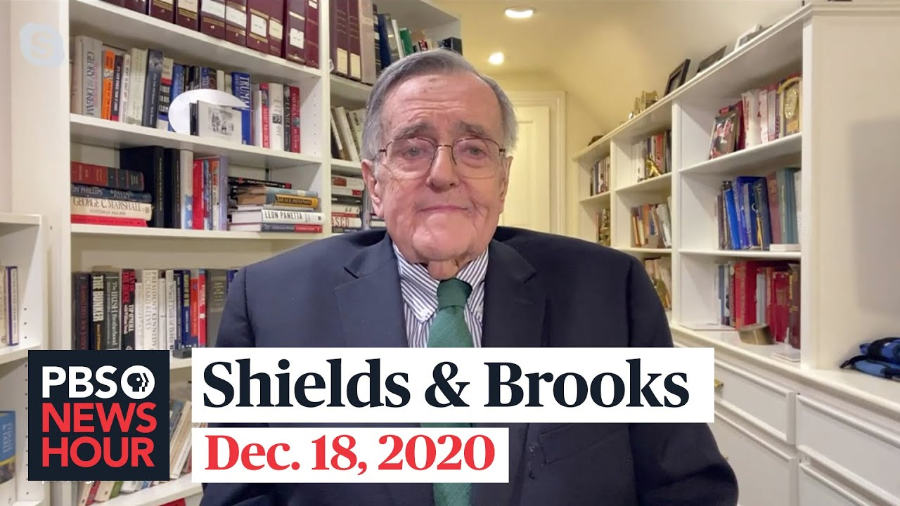 Shields and Brooks celebrate a lifetime in American politics