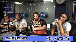 Sauce Walka interview with Dj kayslay at Shade45