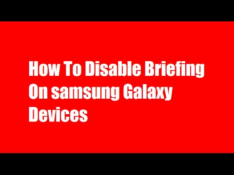 Disable Flipboard Briefing- How to Disable Flipboard Briefing on Samsung Galaxy Devices
