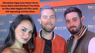 Lance Bass And Michael Turchin Spill On Fave Halloween Costume - Interview With Alexisjoyvipaccess