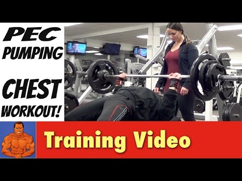 Pec Pumping CHEST Workout Routine