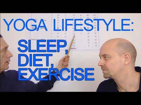 Key Yoga Lifestyle Factors (Sleep, Exercise, Diet) For Health Benefits [Increase DIY Body Oxygen]