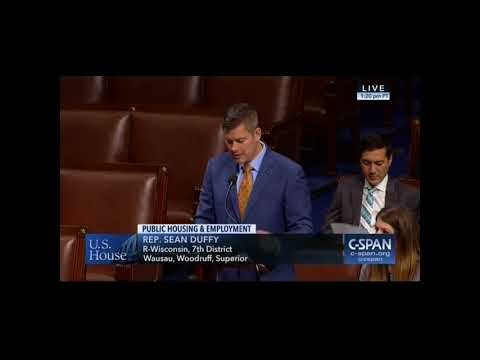 Rep. Sean Duffy Family Self-Sufficiency Act Floor Remarks