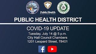 Public Health District Covid-19 Update July 14, 2020