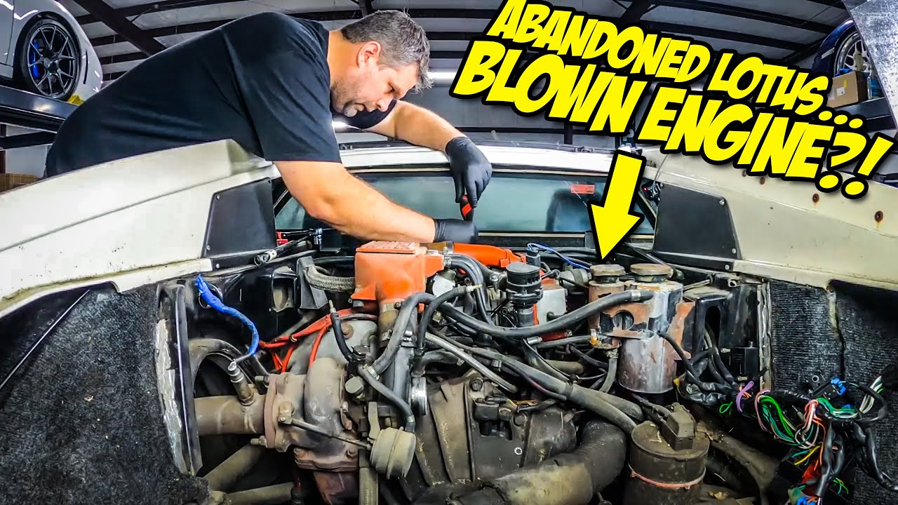 Our Abandoned Lotus Supercar Was Hiding Some MAJOR DAMAGE (Blown $20,000 Engine?!)