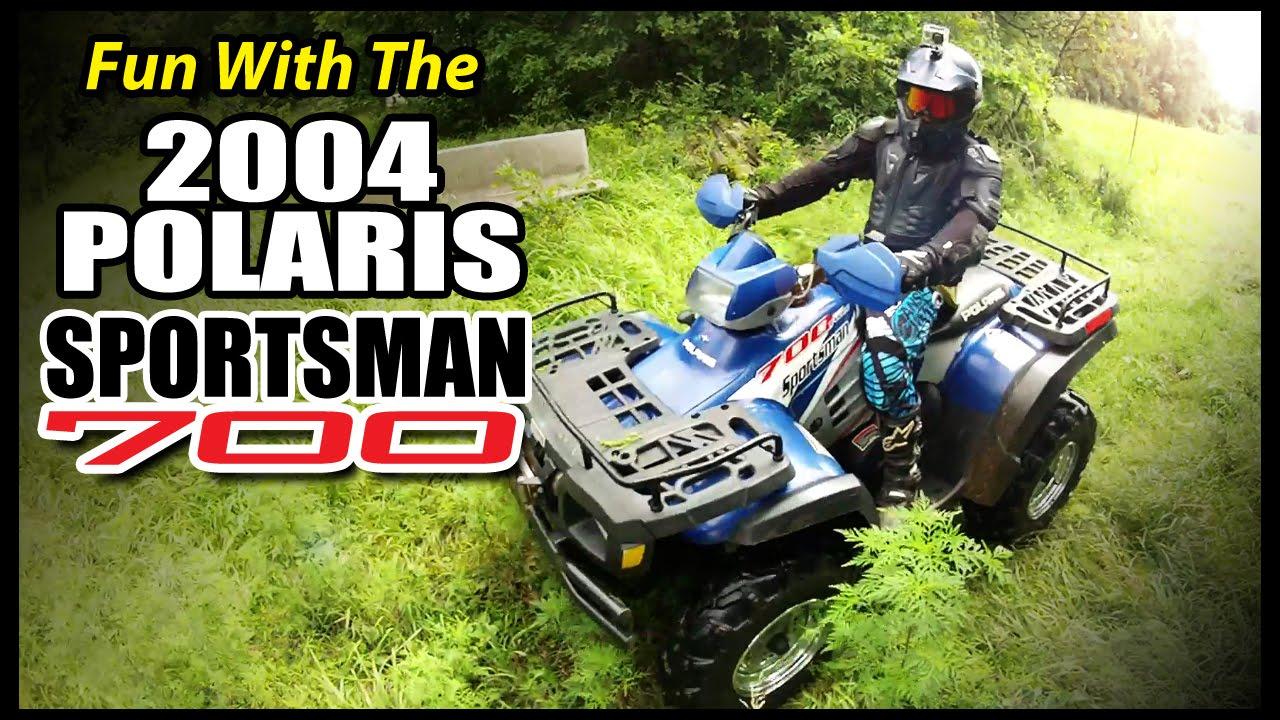 Fun with the 2004 POLARIS SPORTSMAN 700 - ROS:66