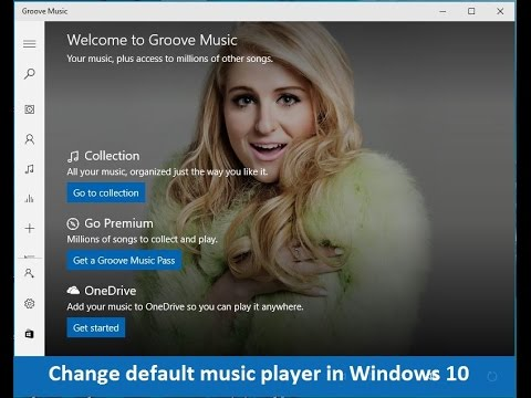 How to change default music player in Windows 10