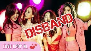 7 K-POP GIRL GROUPS THAT POSSIBLY DISBAND SOON