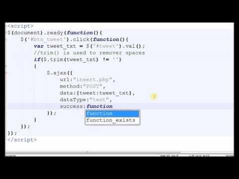 Auto Refresh Div Content Using jQuery and AJAX