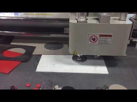 PTFE teflon gasket cutting machine