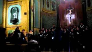 Coro Ute Misa Andina (SANTO)