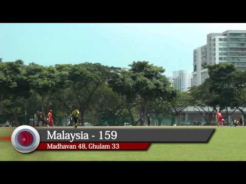 2012 ICC World Cricket League (WCL) Division 5 Final - Singapore vs Malaysia