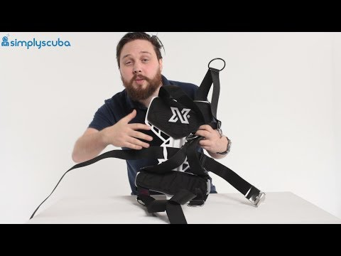 XDeep NX Ultralight Backplate And Harness - www.simplyscuba.com