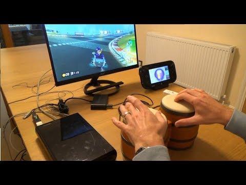 Using Donkey Kong Bongos on the Nintendo Wii U