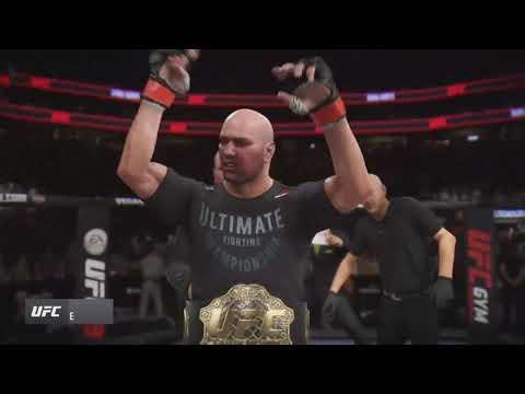 Dana White knocks out Daniel Cormier UFC 3