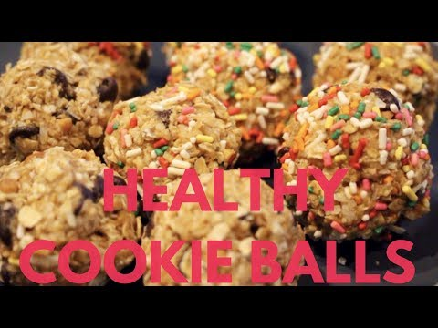 Healthy Oatmeal-Peanut Butter Cookie Balls | They Taste Like Cookie Dough!