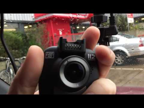 NEXTBASE 720P 112 GO High Definition Dash Cam In Car Review + Real World Driving Video