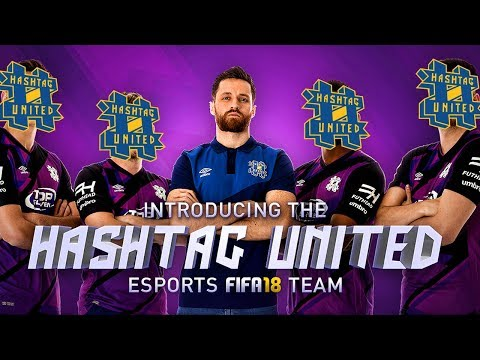 TWO BRAND NEW SIGNINGS! THE HASHTAG ESPORTS FIFA 18 TEAM!