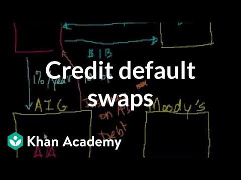 Credit default swaps   Finance & Capital Markets   Khan Academy