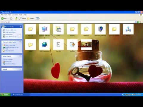 How to Change pen Drive Background ?