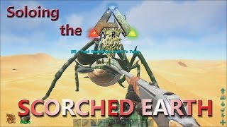 Hunting Deathworm! Soloing the Ark in Scorched Earth E7