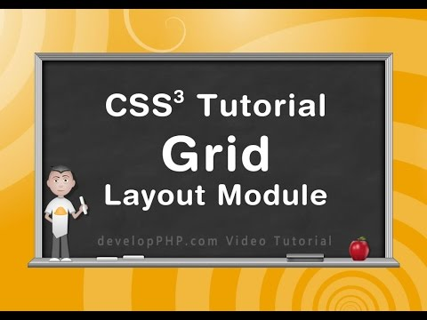 Grid Layout CSS Tutorial and Documentation Reference