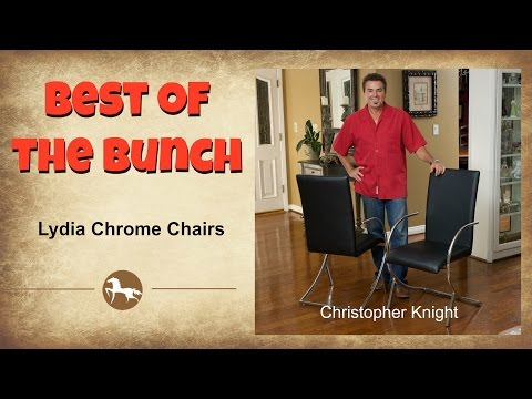 The Best Of The Bunch - Lydia Chrome Chairs