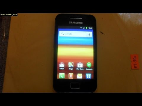 How To Root Samsung Galaxy Ace GT-S5830i  And See Wi-Fi Password When Wi-Fi Network Is Connected.