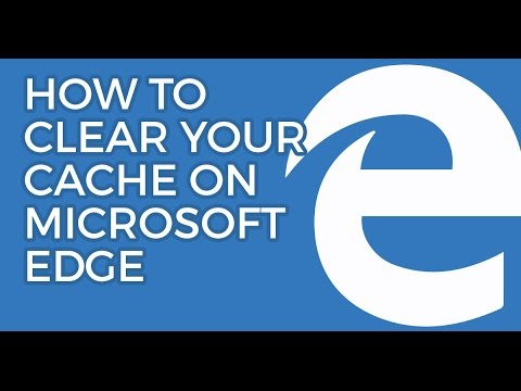 How-To: Clear your Cache on Microsoft Edge