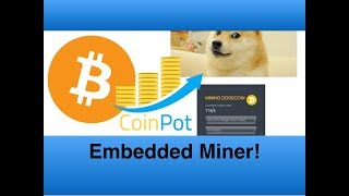 How to  embed a miner \u0026 make Bitcoin from your website