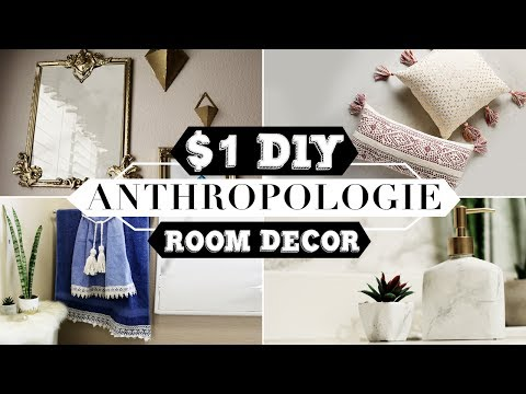 DIY DOLLAR STORE Anthropologie Decor | Nava Rose