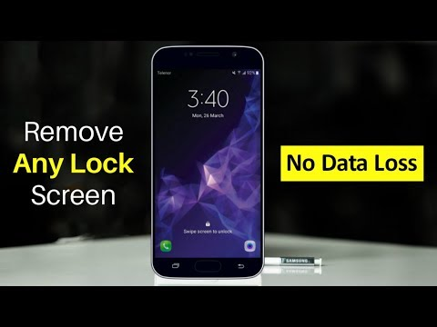 Unlock Samsung Lock Screen Pattern, Pin, Password and Fingerprint without DATA LOSS