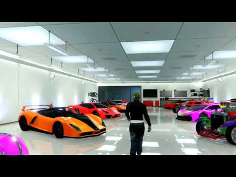 Gta ~ Garage showcase 4K