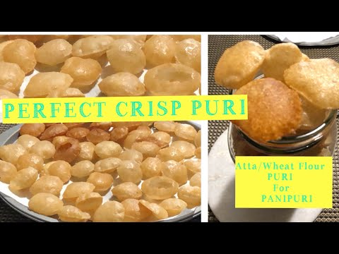 Puri for PANIPURI with tips for Crisp Puri / GolGappa /Puchka Recipe #allin1byjoy #boskip78