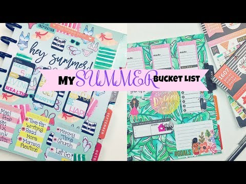 My Summer Bucket List//Stay Productive!