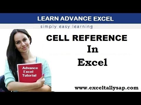 Cell Reference in Excel in Hindi - (By Himanshu Aggarwal)